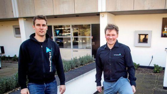 Tim Jepsen og Martin Olsen - Team rengøring A/S